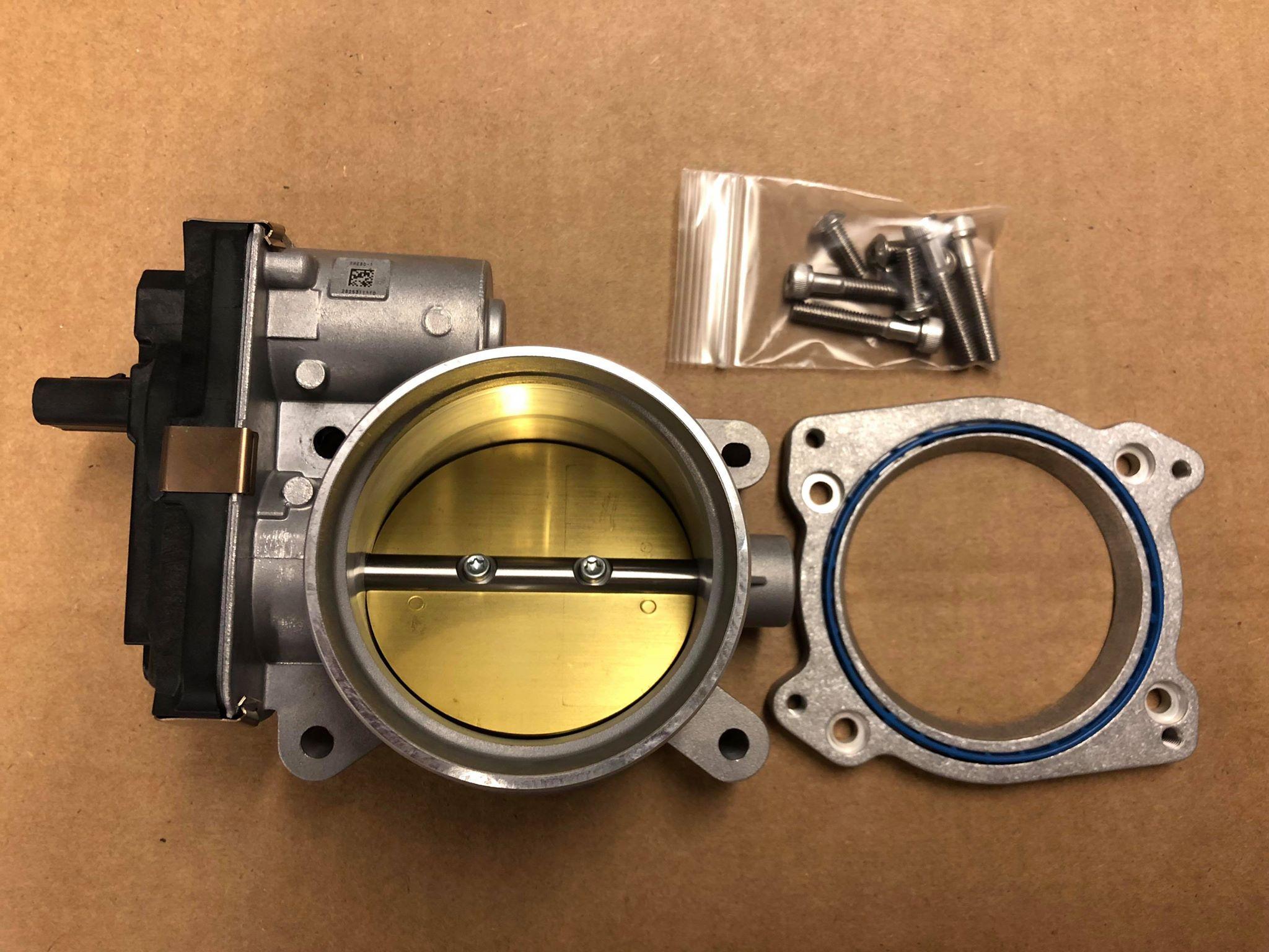 Overkill LGX Bolt-on 80mm Throttle Body Kit